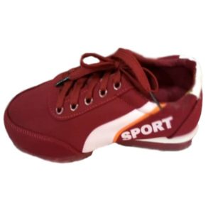 RED KIDS SPORTS SHOES