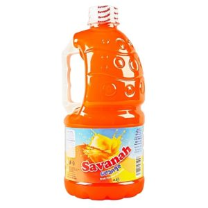SAVANAH ORANGE JUICE 2 LITERS