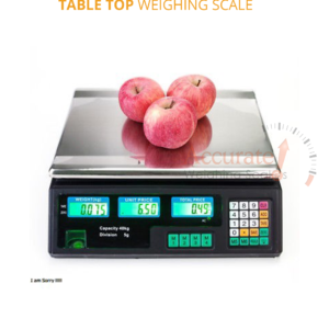 Price computing scales with units kg/ Ib, high accuracy Kabale,