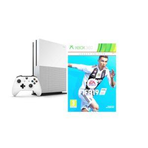Microsoft Xbox One S + Fifa 19 Game 500GB - White