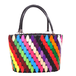 AWESOME HANDMADE COLORFUL HANDBAG