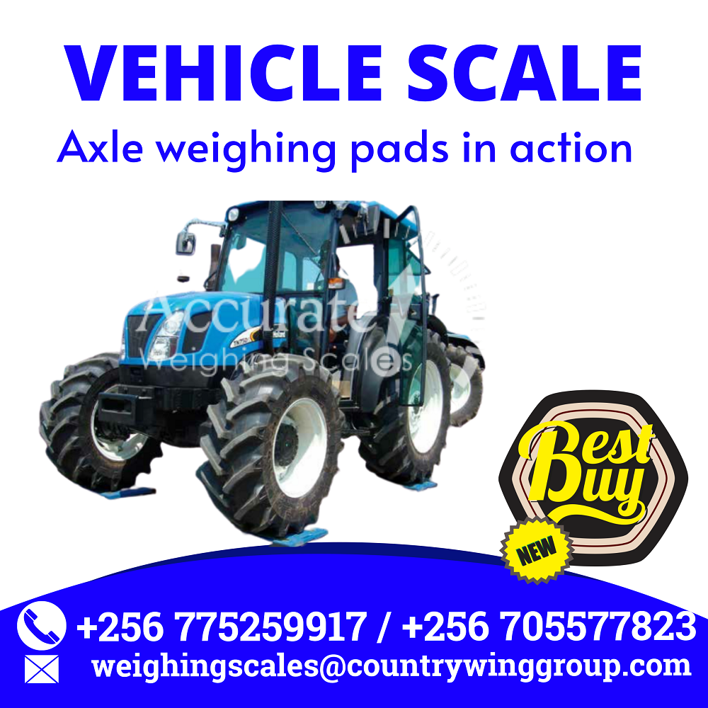 Axle car scales with dynamic weighing indicator for moving vehicles online for sale Mbarara