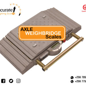 Axle car scales with touch screen indicator and 4GB hard disk at supplier shop Kampala