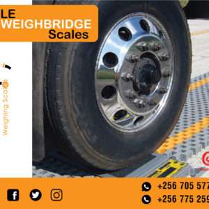 Axle trucks scales with static weighing systems indicator for commercial Kiseeka market