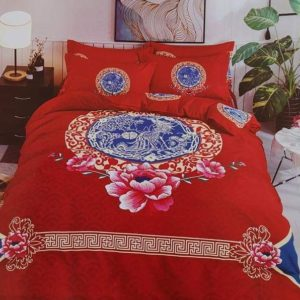 BED-COVER  RED FROLA