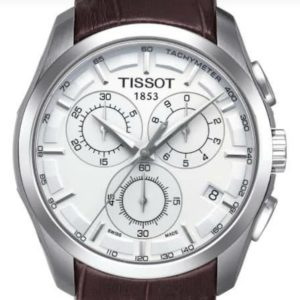 TISSOT MEN LEATHER ORIGINAL WATCH