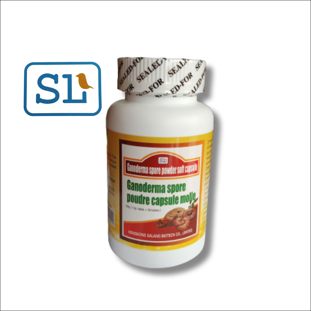 Ganoderma Spore Powder Soft Capsules