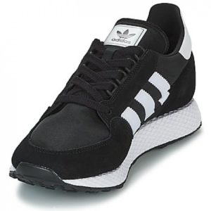 Adidas Low Top Sneakers Black And White