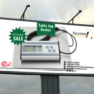 How much is a table top weighing scale in Kampala Uganda