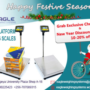 Digital platform weighing scales in Kampala