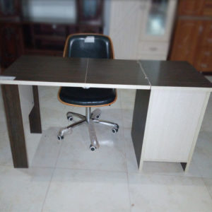 Office Table With 3 Drawers And Seat