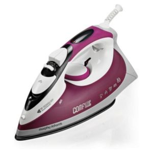 Morphy Richards Maroon And White M400 Speed Heat Steam Iron & Vertical Steamer with