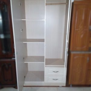 Home And Office Wardrobe White
