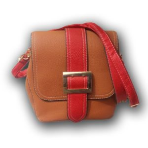 DESIGNERS' HAND BAG -BROWN