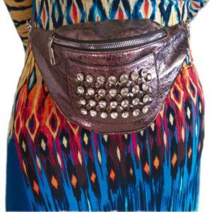 Leather  Women Waist Bag