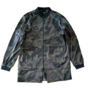 Navy Long-Sleeved Coat