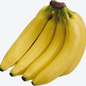 A cluster of Yellow Ugandan banana (BOGOYA)