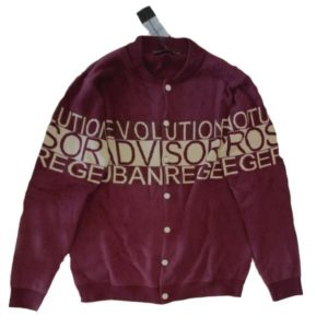 Grandma Middle Button Sweater