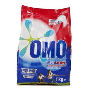 OMO WASHING POWDER 1KG