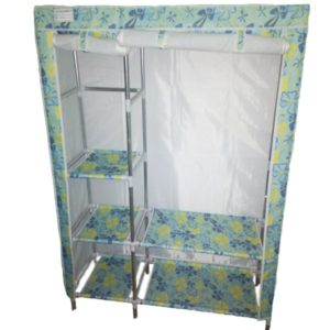 Wardrobe  Standing Clothes Closet Shelf