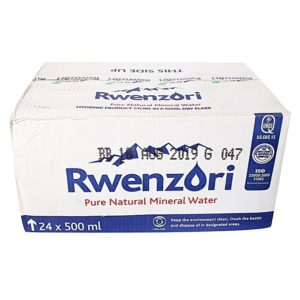 Box Of Rwenzori Purified Drinking Water 550Ml
