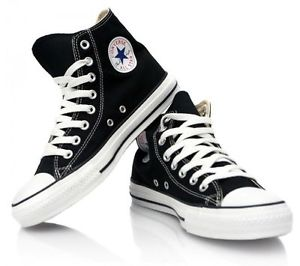Women Converse All Star White And  Black