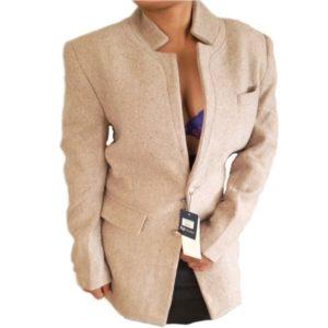 Ladies French Coat Brown
