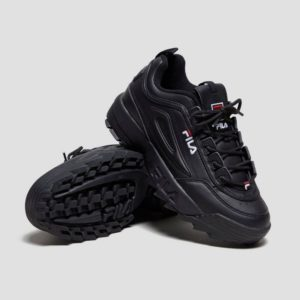 Fila Disruptor II Sneakers For Women Black