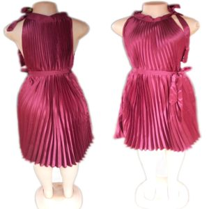 Embroi Dress For Ladies Maroon