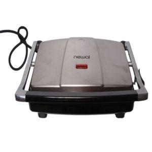 Newal NWL-5084 Grill And Sandwich Toast Machine - Silver, Black
