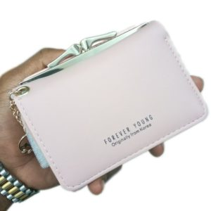 Forever Young Money Purse For Ladies Creamy White