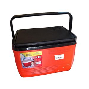 Cooler Box Ice Box Chest 14 Litres - Orange & Black