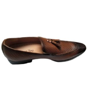 MEN GENTLE BROWN LEISURE SHOES
