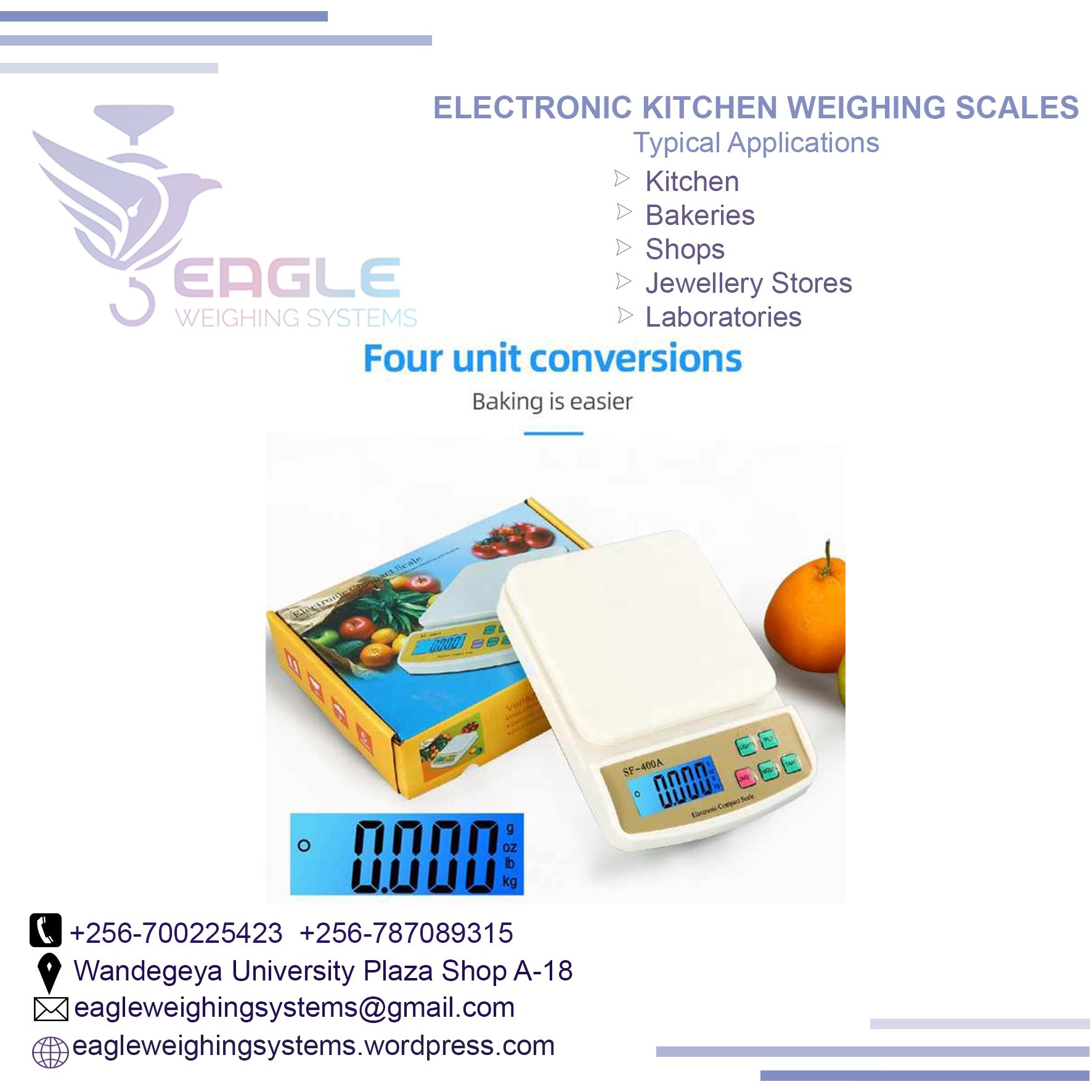 Electronic Weighing Scales for Kitchen
