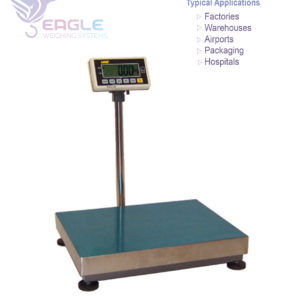industrial use weighing scales.
