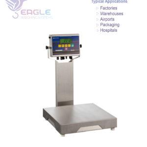 Platform weighing scale bench digital type